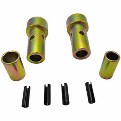 Cat 1 Quick Hitch Adapter Bushing Kits Heavy Duty Steel Category One Tool Tuff