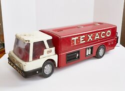Vintage Texaco Gas Truck - Large - Red - Real Antique