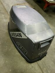 Nissan 40 Hp Outboard Engine Cover Cowl Hood Housing