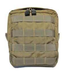 Specter Gear 357 Coyote Molle Mesh Bottom Modular Utility Gp Pouch Us Military