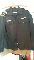Royal Canadian Regiment Officers Jacket 1980s Para Wing Free Shipping