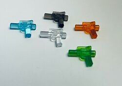 Lego Trans Clear Lot Weapon Gun Blaster very small for mini figure 92738 $5.99