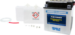 Wps Conventional 12v Heavy Duty Battery With Acid Pack Yb30cl-b Cb30cl-b