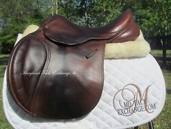 16 County Innovation Child / Pony Close Contact Jumping Saddle-2012 Modelrare