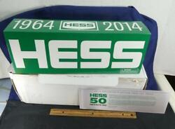 Hess 1964-2014 Toy Truck Collector's Edition 50th Anniversary Nib W/ White Box