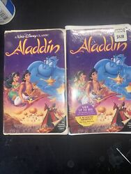 Aladdin Vhs 1993 One Brand New Sealed One Used