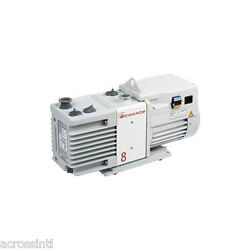 Edwards Rv8 6.9 Cfm 2-stage Vacuum Pump W/ Fittings Vacuum Chamber Purging Oven