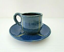 Rare Gladys Reynell Reynella Pottery 1921 Pottery Cup And Saucer - Not Osrey