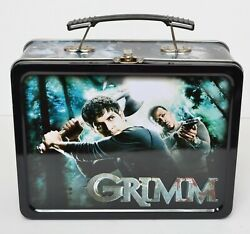 Grimm Metal Lunchbox Lunch Box Tin Dark Horse Deluxe 2013 No Thermos Nbc Tv Show