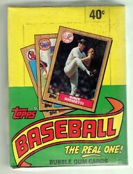 1987 TOPPS WAX BOX 36 PACKS JACKSON AND BONDS ROOKIES DIRECT FROM SEALED CASE