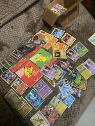Pokemon Collection Lot Unsorted 100+ Cards
