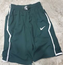 Sweet 2013 Nike Michigan State Spartans Shorts Mens Size Medium Only One On Ebay