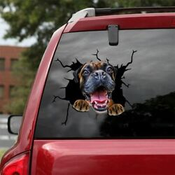 Funny Boxer car decalBoxer decal dog decalwindow stickerpet decal