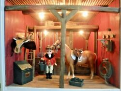 American Girl Retired Stable W/ Breyer Horses And Original Boxes 99 Complete