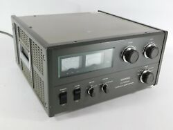 Kenwood Tl-922a Ham Radio 3-500z Tube Amplifier Wired For 230v Runs Great