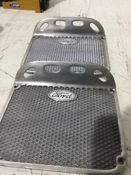 Model A Ford Runningboard Step Plates- Pair New