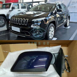 For Jeep Cherokee 2014-16 Leftandright Side Mirror Assembly Rearview Mirror Cover