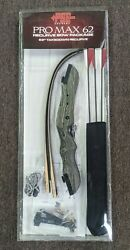 New Pse Pro Max 62in Take Down Recurve Bow Package 30 Right Or Left Hand