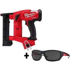 1/4 In. 18-volt 18-gauge Narrow Crown Stapler Tinted Performance Safety Glasses