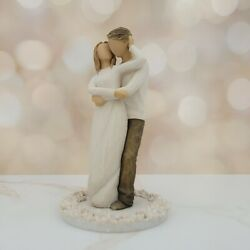 Willow Tree Together Cake Topper Couple Figurine 27162