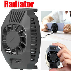 Mobile Phone Cooler Cooling Fan Heat Sink Game Radiator Pugb Ios Android Games
