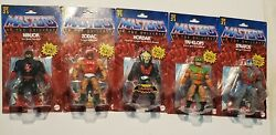 Motu Origins Wave 4 Figure Lot Masters Of The Universe Ninjor Hordak Stratos New