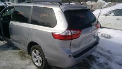 Rear Clip Fwd Base 7 Passenger Privacy Tint Glass Fits 16-19 Sienna 150438
