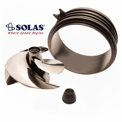 Solas Sea Doo Spark 2-up 14-17 / 3-up 14-18 Impeller Sk-cd-13/18 With Wear Ring