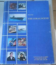 Cruise Book Uss Coral Sea Property Of Radm William Harris Signed By Bob Hope