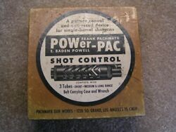 Vintage 40's Pachmayr 16 Gauge Power Pac 3 Choke System .740 Adt. New In Box