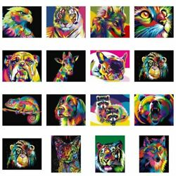 Lion Tiger Cat Poster Wall Art Canvas Animals Graffiti Art Paintings Pictures