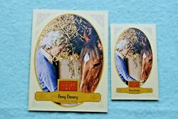 Penny Chenery Lot Of 2 2012 Golden Age And Mini Blue Croft Back 107 Horse Racing