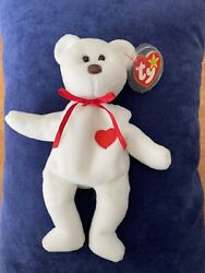 Valentino 1993 Mint Rare Retired Beanie Baby With Al Least 16 Tag Errors