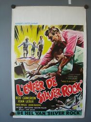 1954 Hells Outpost 1sh Movie Poster French 14 X 21.5