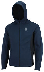 Spyder Menand039s Constant Full Zip Hooded Jacket Color Options