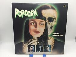 Popcorn Extended Play Laserdisc Ld - Dee Wallace Stone And Ray Walston - Horror
