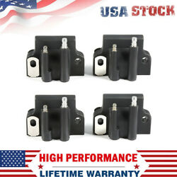 4pcs Ignition Coil For Johnson Evinrude 582508 18-5179 183-2508 Outboard Engine