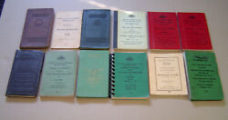 Vtg. 1924-70 Denver And Rio Grande Western Railroad System Rules And Regs. Books 12