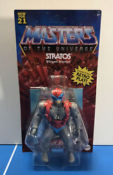 Mattel Masters Of The Universe Origins - Stratos - 5.5 Action Figure - Wave 4