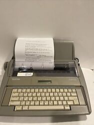 Brother Sx-4000 Electronic Lcd Digital Display Typewriter W/ Dictionary - Works