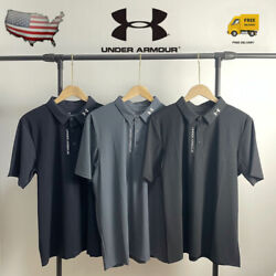 UNDER ARMOUR Quick drying clothes Activewear Tops Men#x27;s Playoff Golf Polo Shirt $26.70