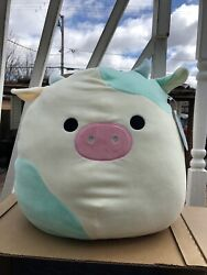 Squishmallows Kellytoy 16andrdquo Belana The Blue Cow Brand New