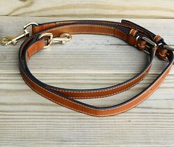 NEW Dooney and Bourke Handbag LEATHER Replacement Strap SADDLE BROWN $49.00