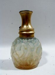 Old Lalique France Calendal Dancing Nudes Molinard Perfume Bottle Atomizer