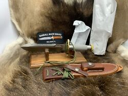 Randall 18 Model Survival Knife With Stainless Handles And Sheath Mint In Paper+++