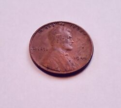 1944-p No Mint Mark 1c Lincoln Wheat Penny Wwii Wartime Cent