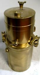 Gray And Davis Sidemount Brass Carbide Acetylene Generator Cadillac Ford Stanley