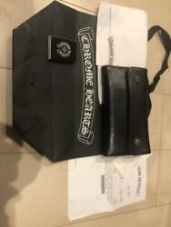 Chrome Hearts Authentic Wave Long Wallet Regular Store Purchase