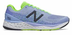 New Balance Womenand039s Fresh Foam 880v10 Shoes Blue With Green