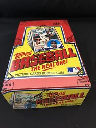1983 Topps Baseball Michigan Wax Box Bbce Wrapped And Authenticated